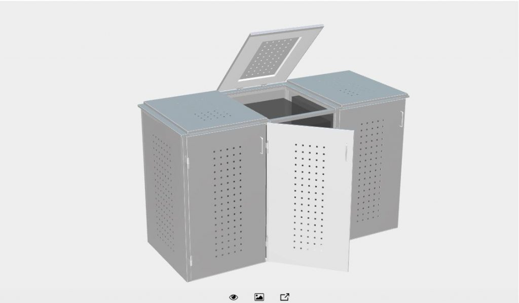 Brügmann TraumGarten GmbH - BINTO Mülltonnenbox-OnlinePlaner