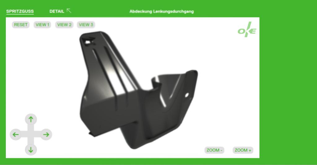 WebApp für die OKE Group GmbH